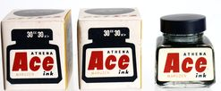丸善 MARUZEN Ace ink BLUE BLACK 30cc-1