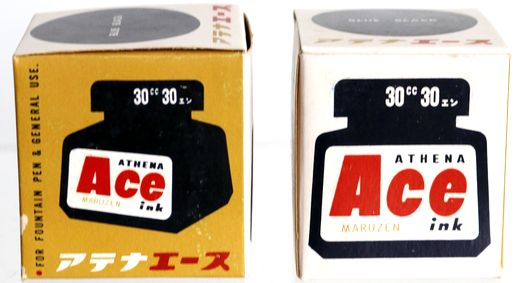 丸善 MARUZEN Ace ink BLUE BLACK 30cc-7