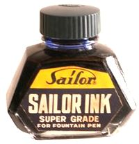 Sailor INK BLUE BLACK 1オンス
